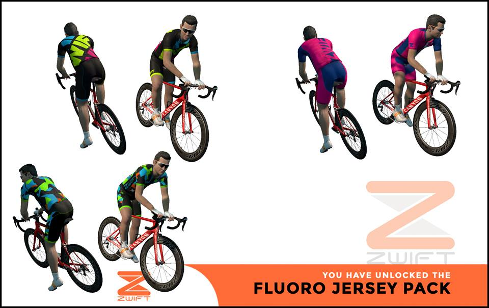 Zwift Jersey Previews and Kit Unlock Codes  c19b0a75f