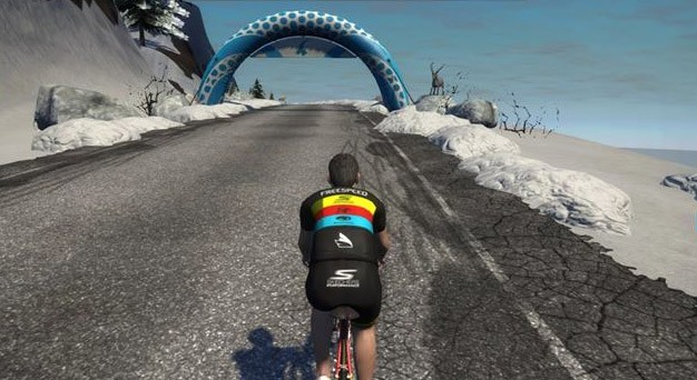 Epic KOM segment details for new Zwift Watopia mountain route