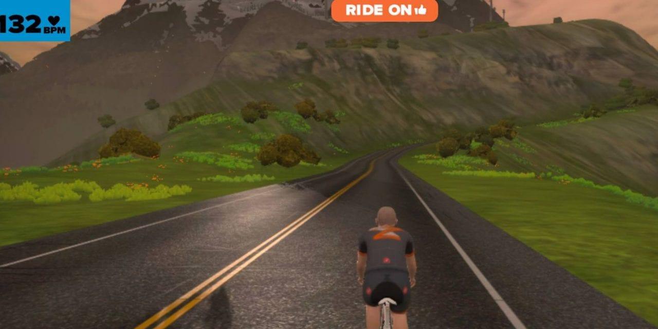 Watopia mountain route released