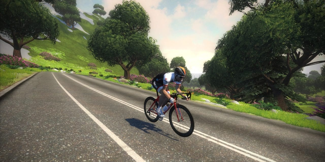 Zwift course schedule for May 2016