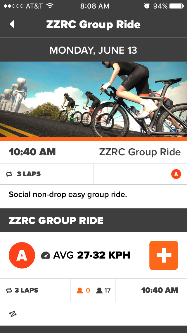 Joining a group ride or race in Zwift | Zwift Insider