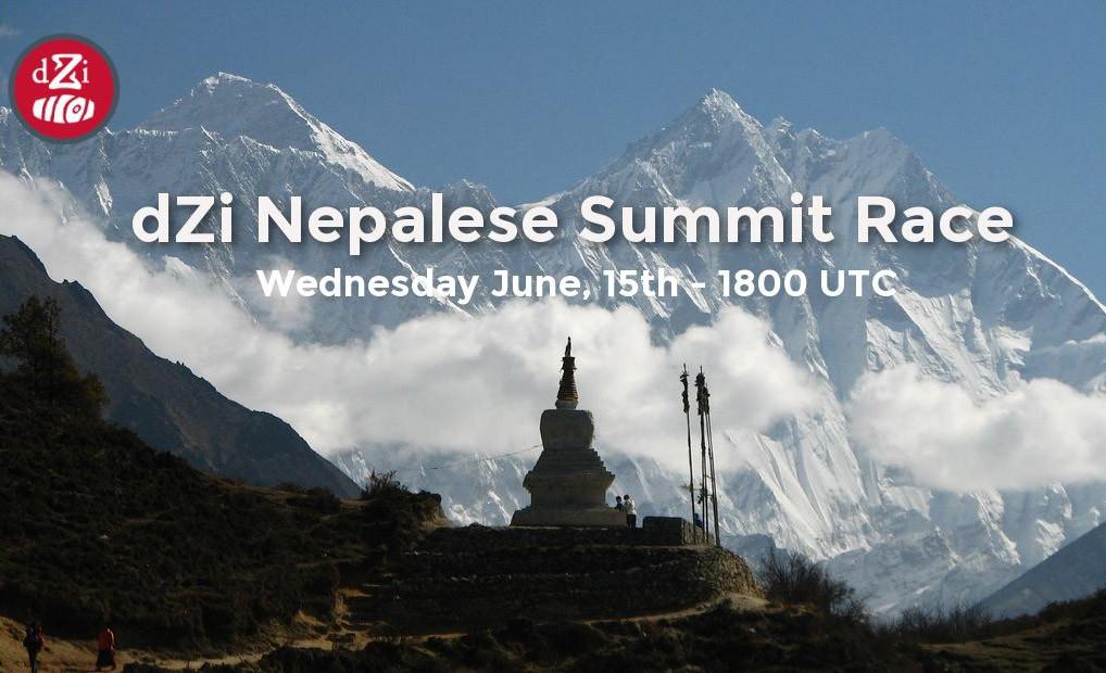 dZi Nepalese Summit Race #3 June 15th