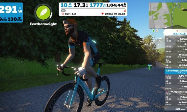 Distribution of Zwift PowerUps