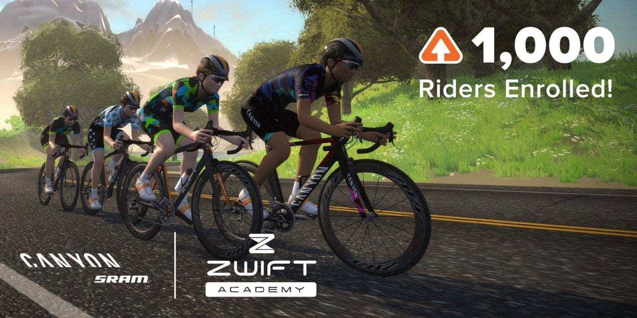 Zwift Academy winner announced