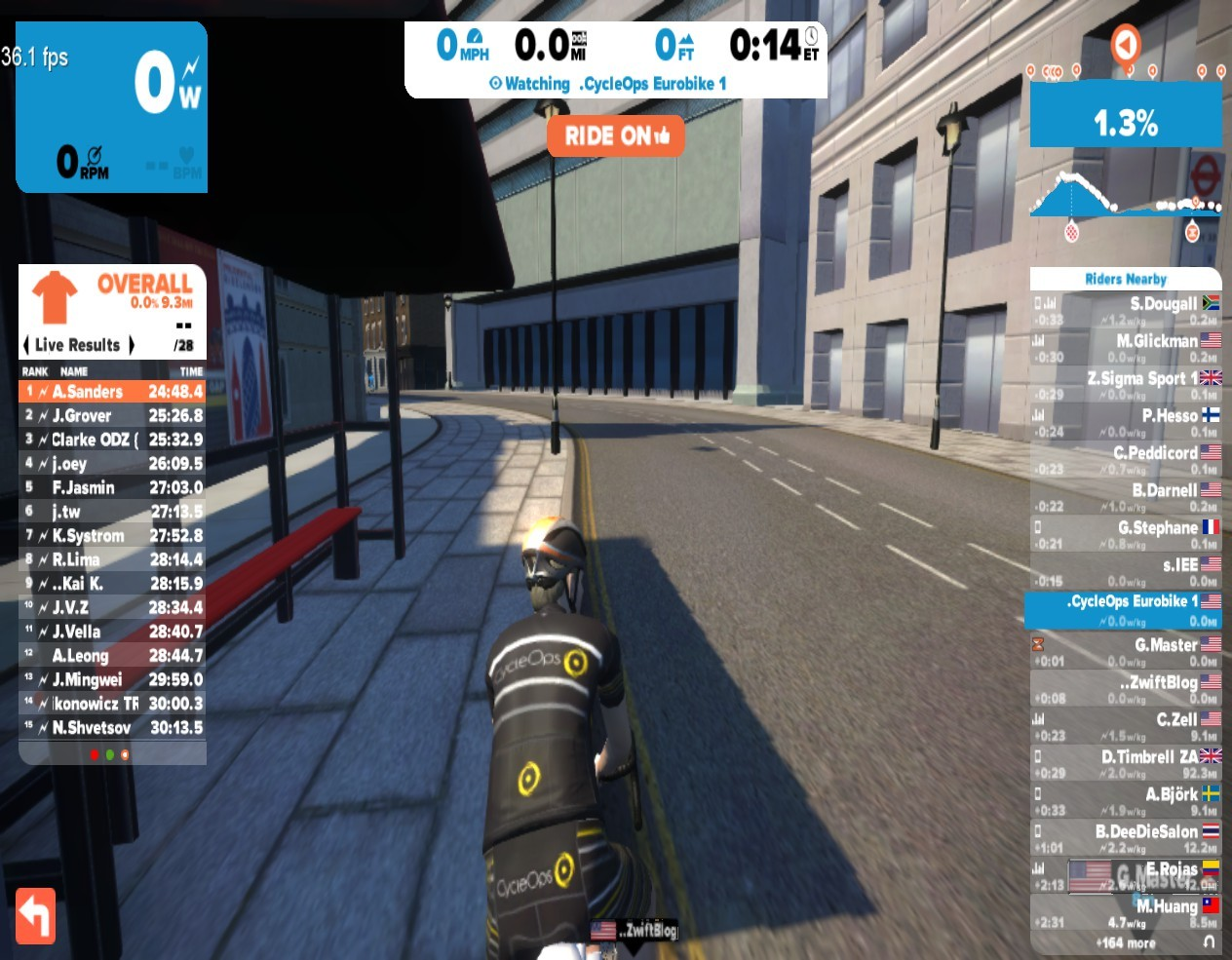 How to show your frames per second (FPS) in Zwift   Zwift