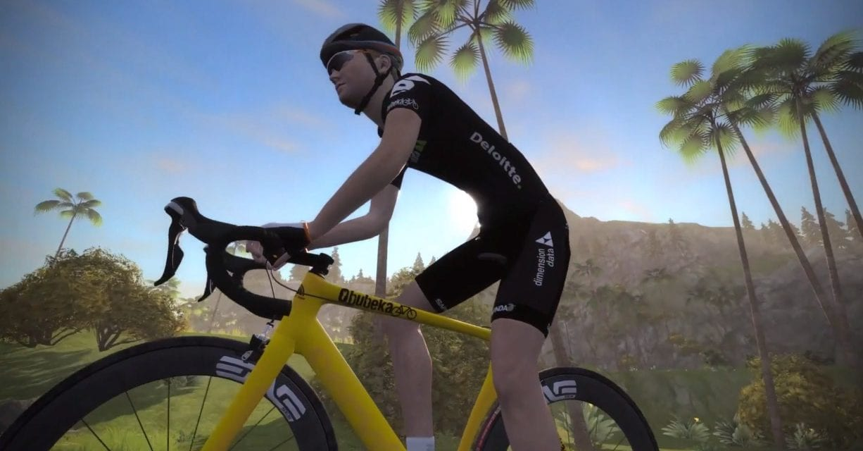5d6a854d1 Ride On for Qhubeka with Zwift