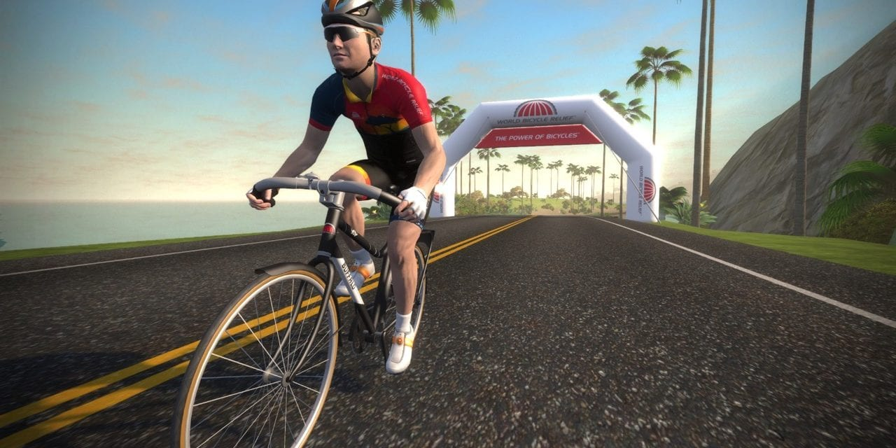 Ride on Zwiftathon for World Bicycle Relief December 3rd