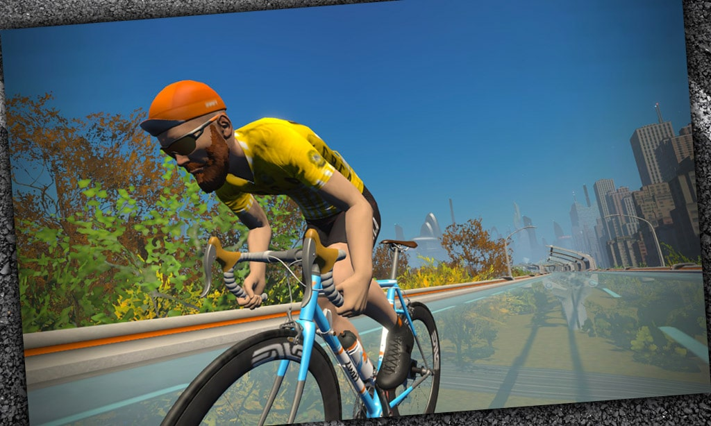 How to Stand Up in Zwift