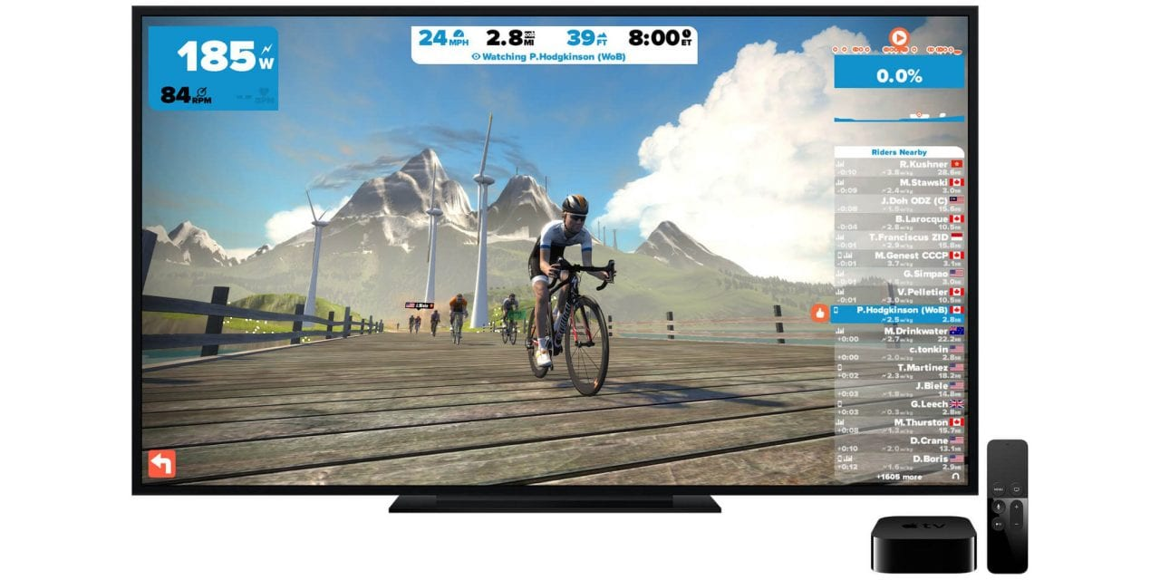 Zwift Launched on Apple TV | Zwift Insider