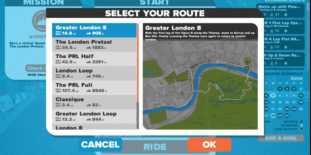 Greater London 8 route details