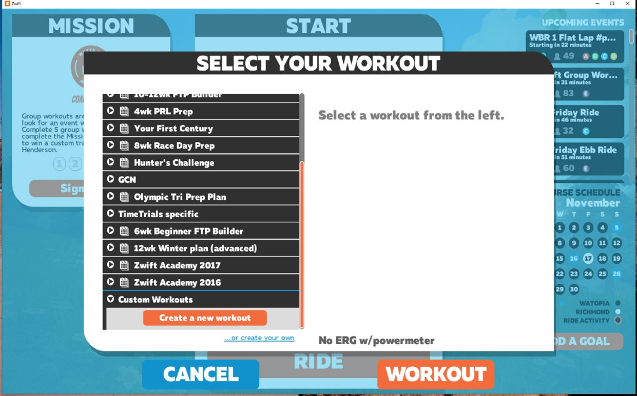 Backing up and syncing your Zwift custom workouts on Windows