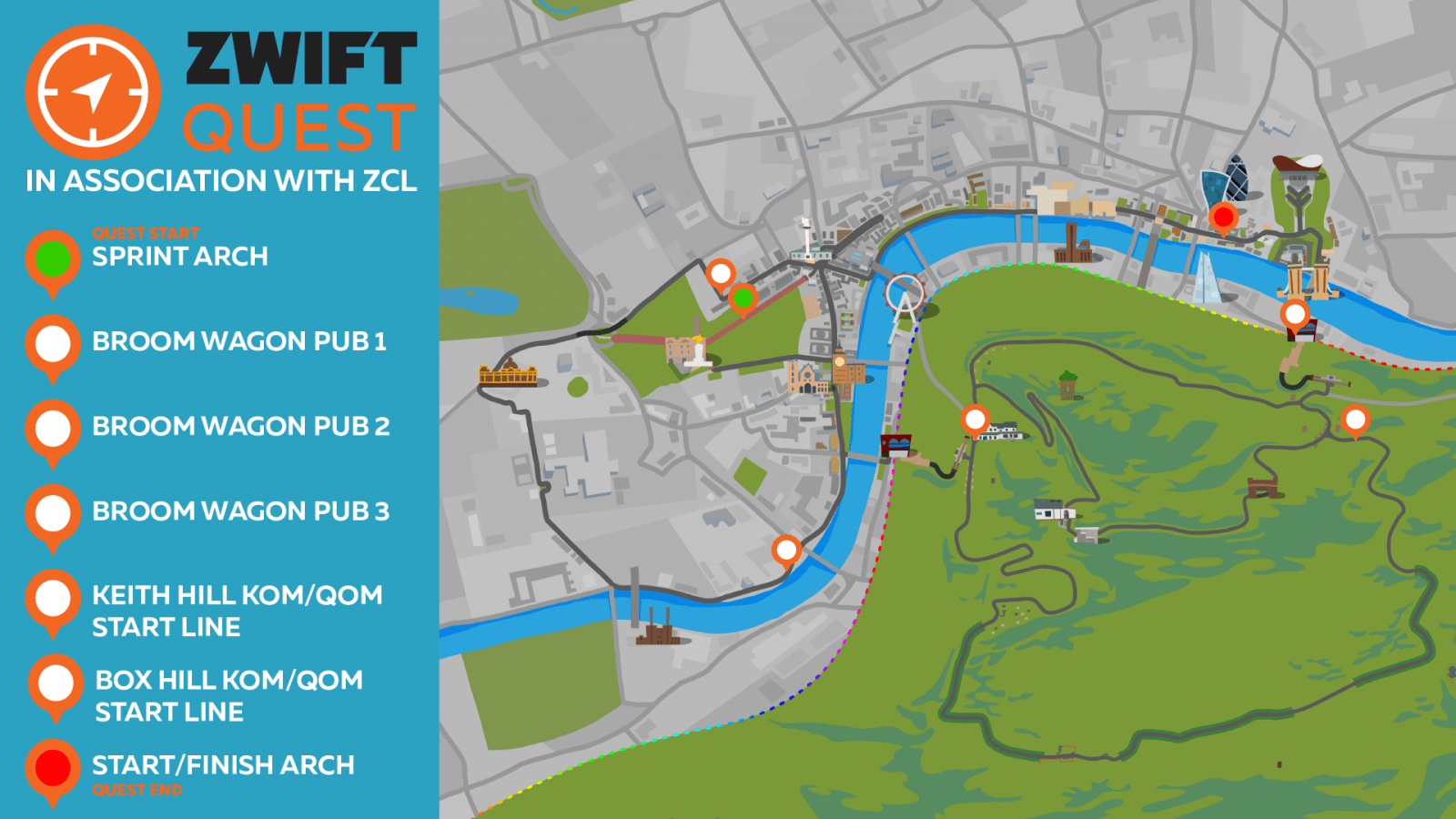 An Evening with ZwiftQuest: Who has the best route? | Zwift Insider