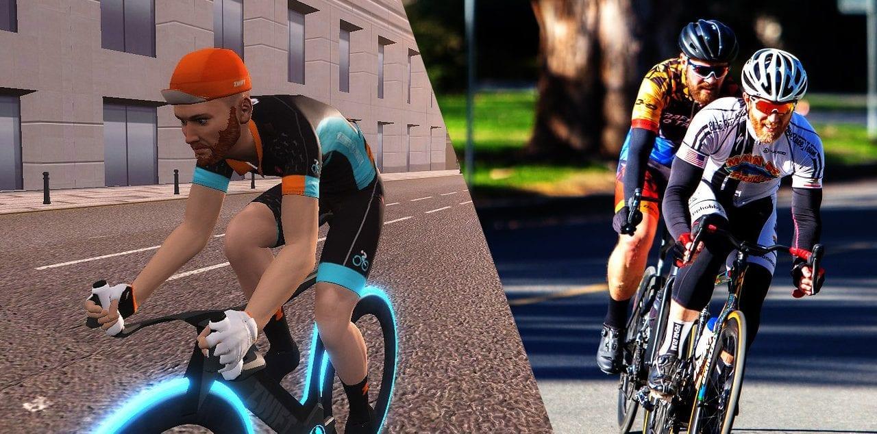 Crit Race Comparison: Zwift vs Outdoors