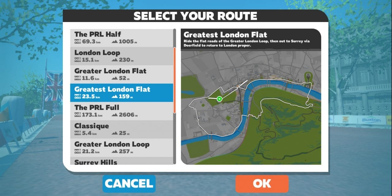 """Greatest London Flat"" Route Details"