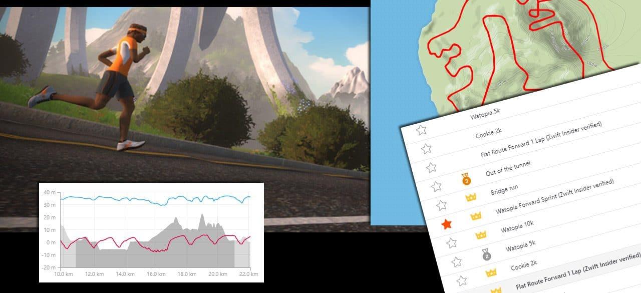 Verified Strava Segments for Zwift Runners | Zwift Insider