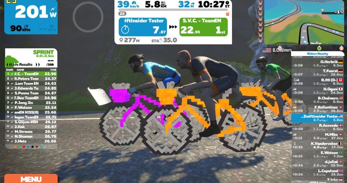 You'll never guess what Zwift rolled out today…