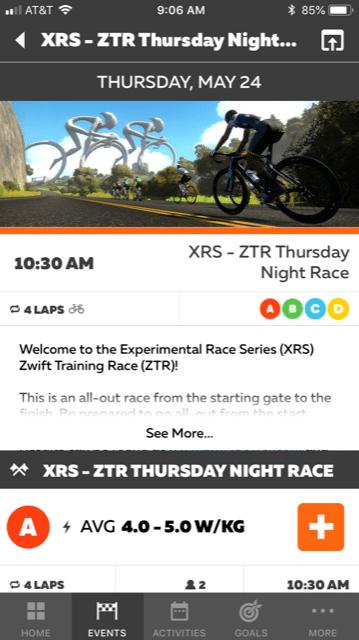 Event Sharing Is Easy with the Updated Zwift Companion App