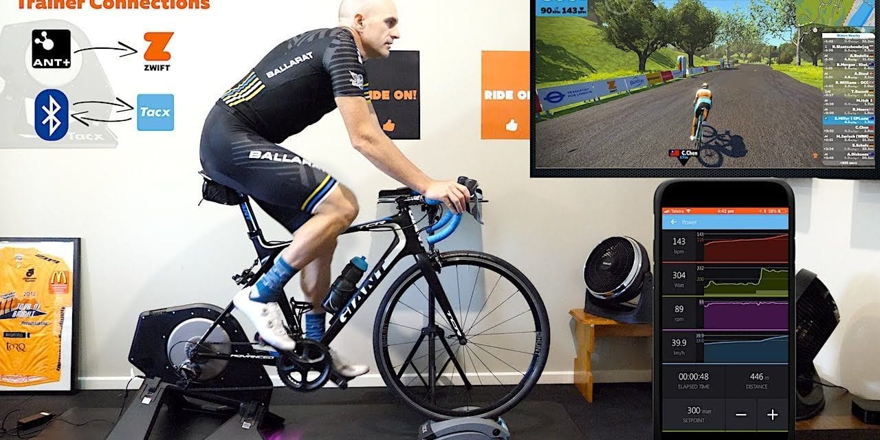 Using Zwift and Other Indoor Training Apps Simultaneously