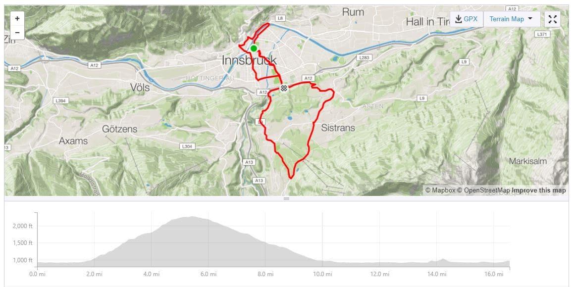 Innsbruck Course Recon Rides Shared on Strava