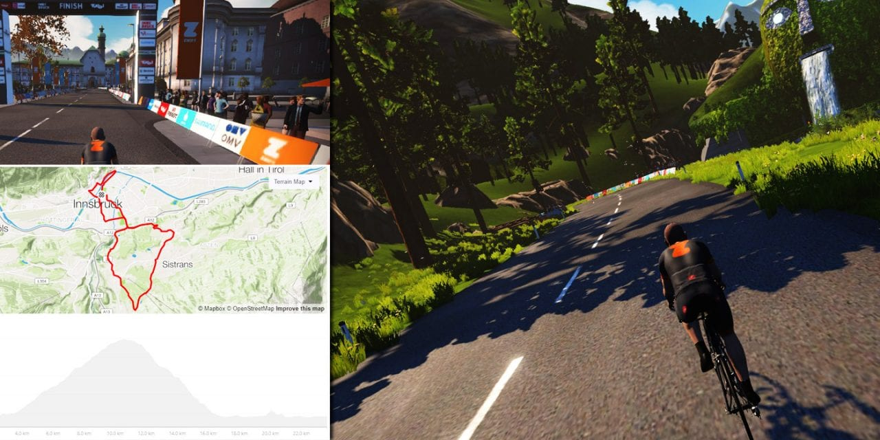 Zwift Launches Innsbruck 2018 UCI Worlds Course