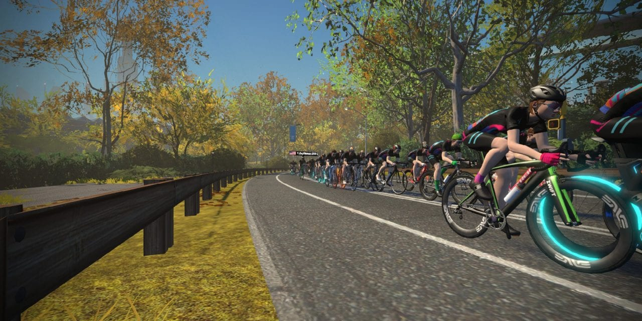 All About Double Draft Mode in Zwift