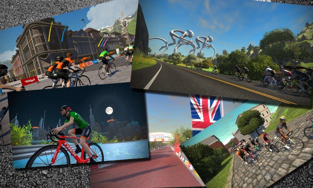 Zwift Course Calendar – May's Guest World Schedule