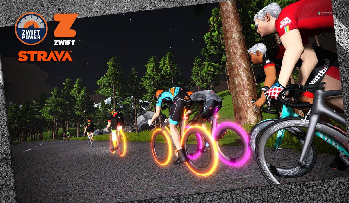 How To Race On Zwift Setup Strategy And More Insider The Parts Of A Bicycle Nomenclature Bike Component Names What Things