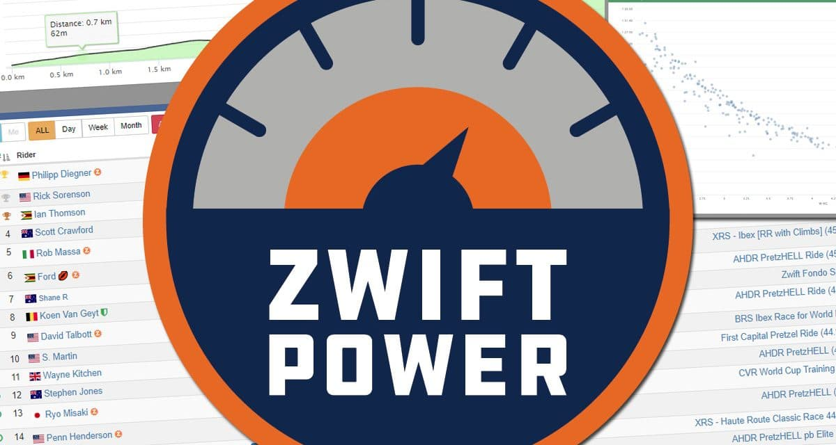 ZwiftPower Update: KOM and Sprint Segments