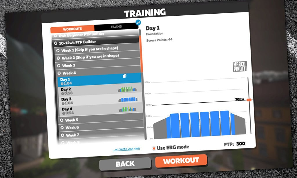 All About Erg Mode in Zwift