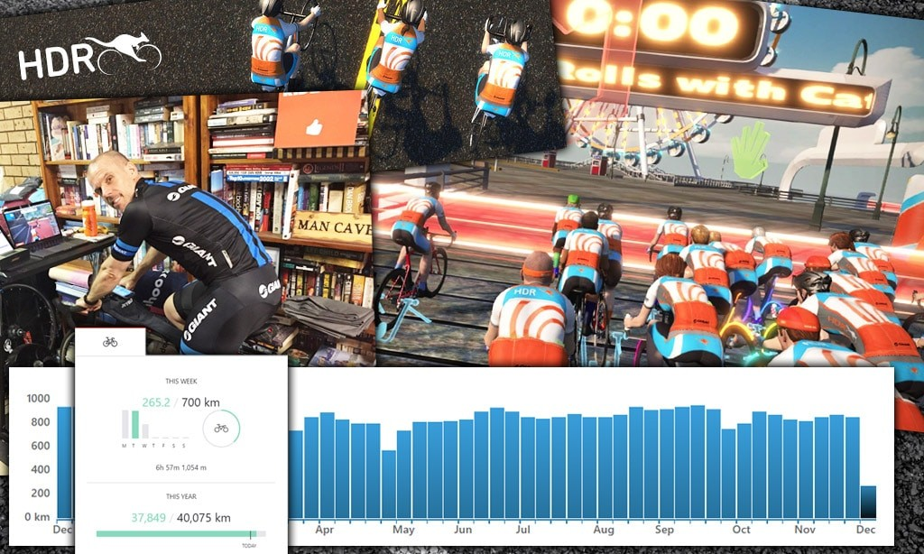"Tim ""Bacon"" Searle: Reaching 100,000km on Zwift"
