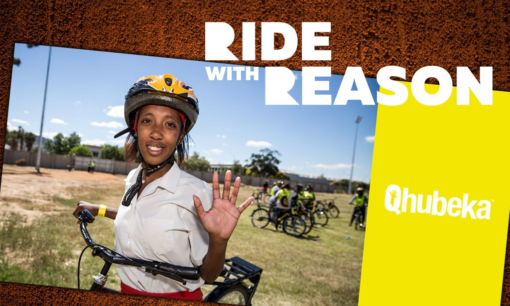 938be43fa Ride with Reason Week 2 Challenge  Ride for Qhubeka