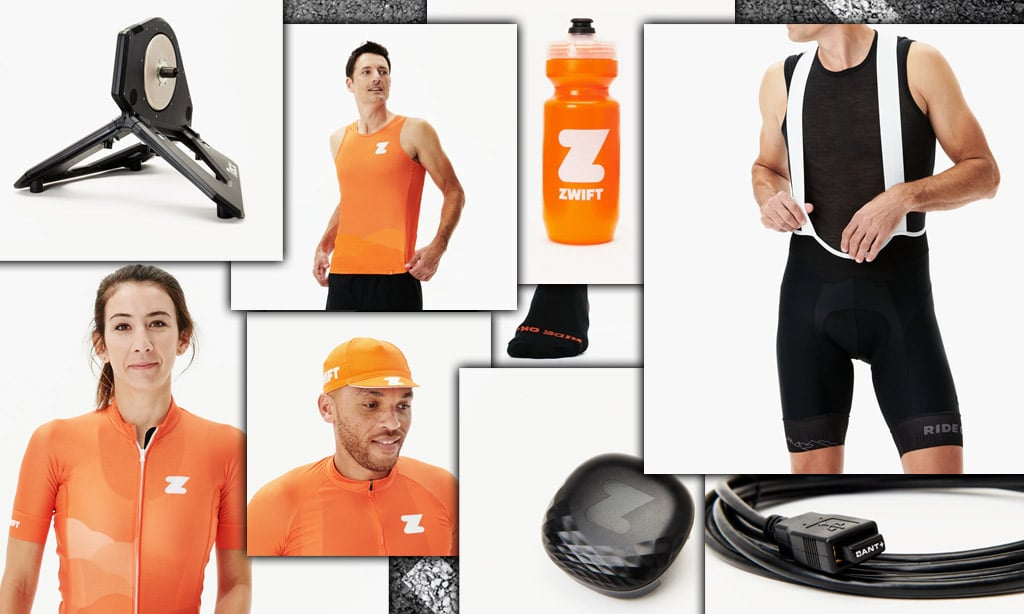 Zwift Shop Re-Launched with Trainers, Clothing and More