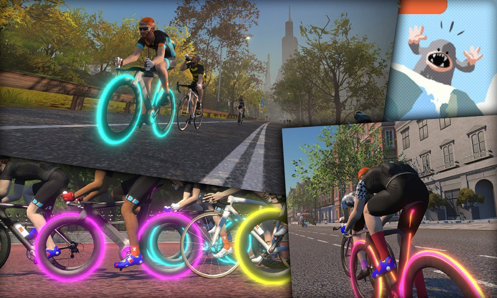 All About Zwift's Concept Z1 (Tron) Bike