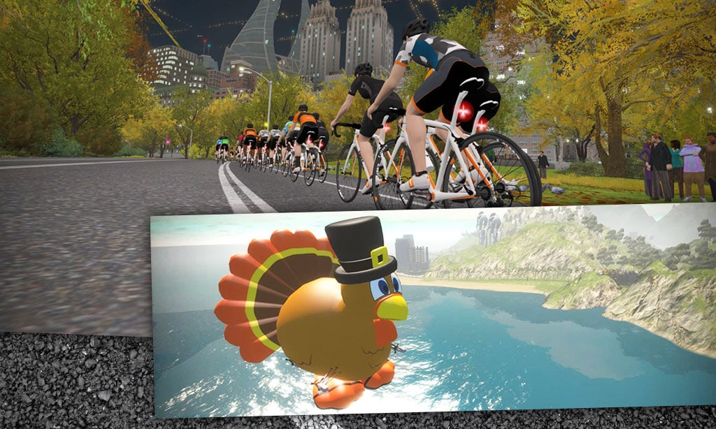 Don't Miss These Thanksgiving Day Rides from Zwift HQ