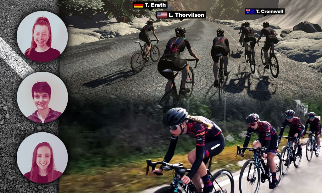 Zwift Academy Finals – Day 3 – Hill Climb Race