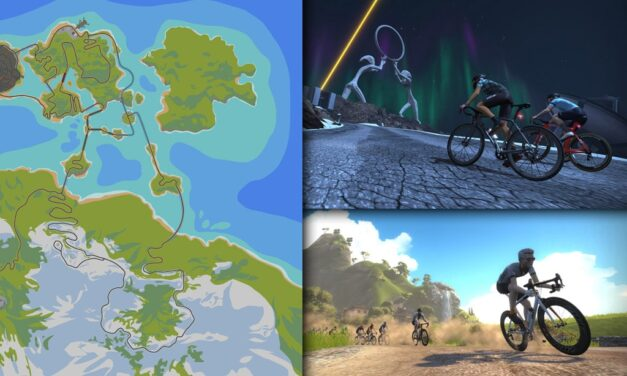 Route Maps & Details for Zwift's Watopia Course