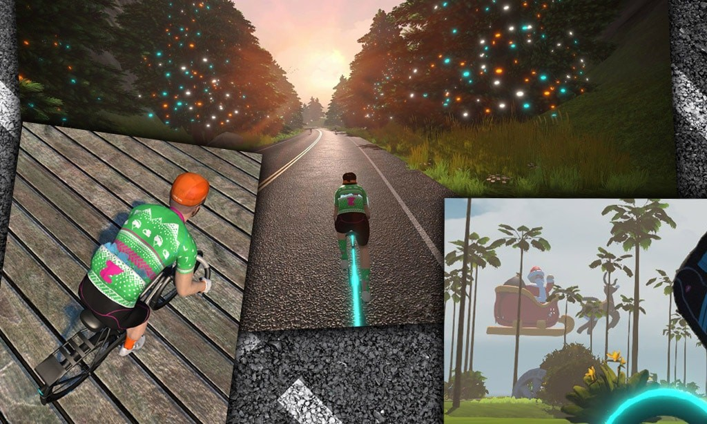 It's Beginning To Look a Lot Like Christmas… on Zwift