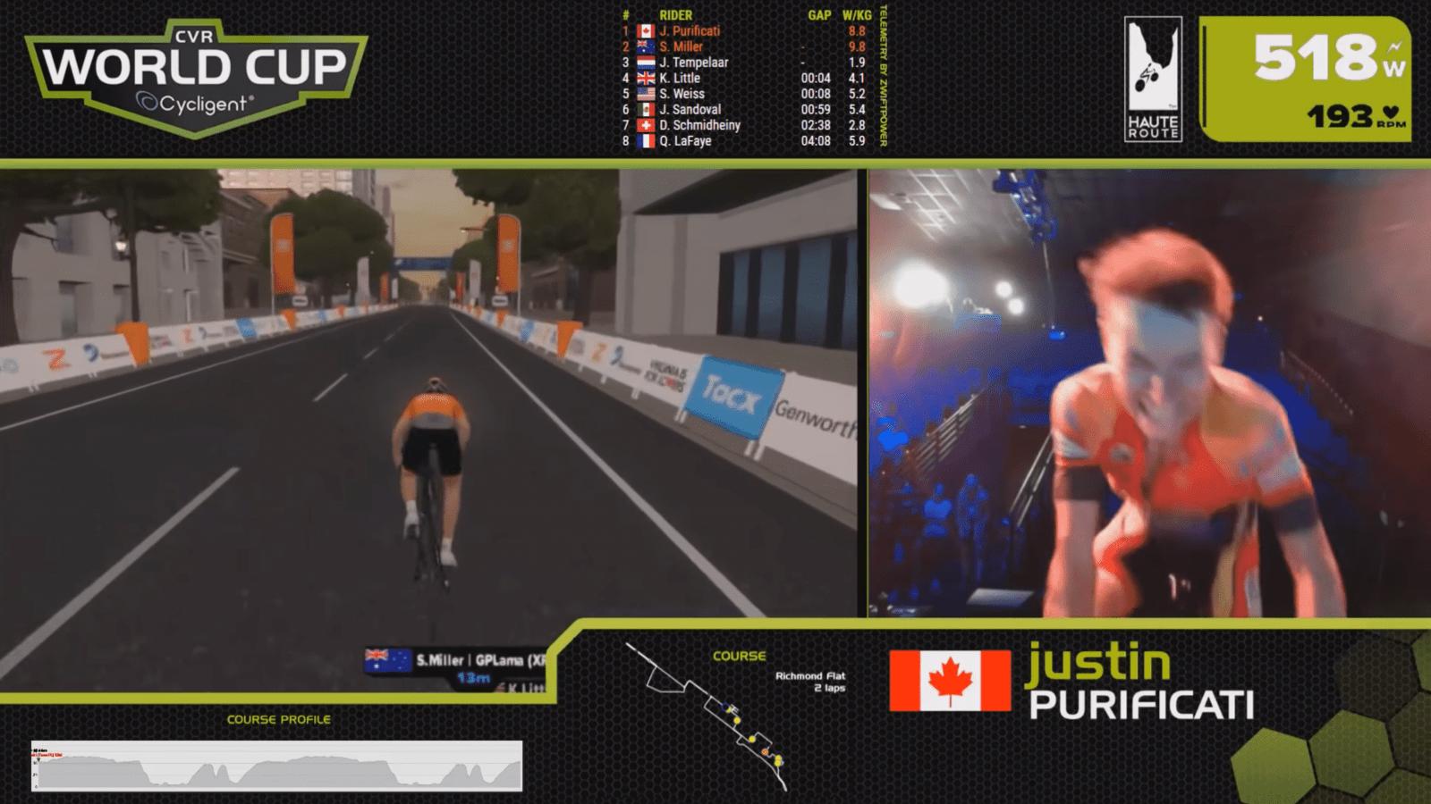 Justin CVR racing