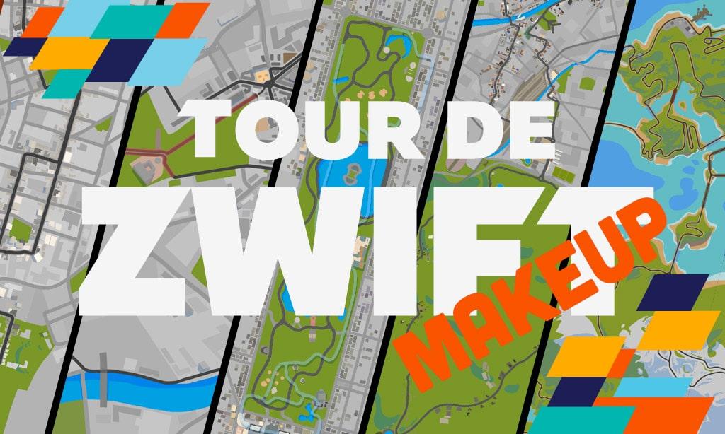 Tour de Zwift Makeup Event Schedule Released