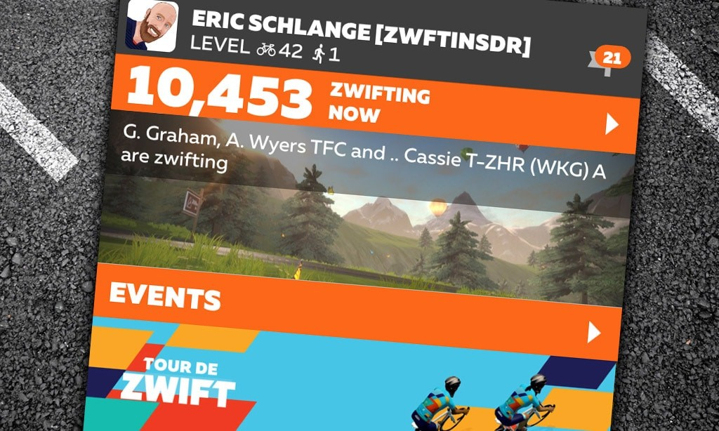 Zwift Breaks All-Time Concurrent Users Record