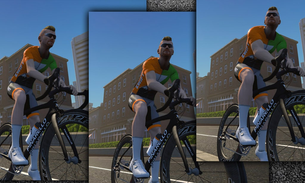 How Zwift Sizes Your Avatar's Body