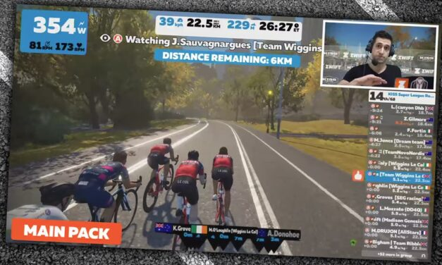Racing on Zwift – Challenges and Opportunities for Broadcasters