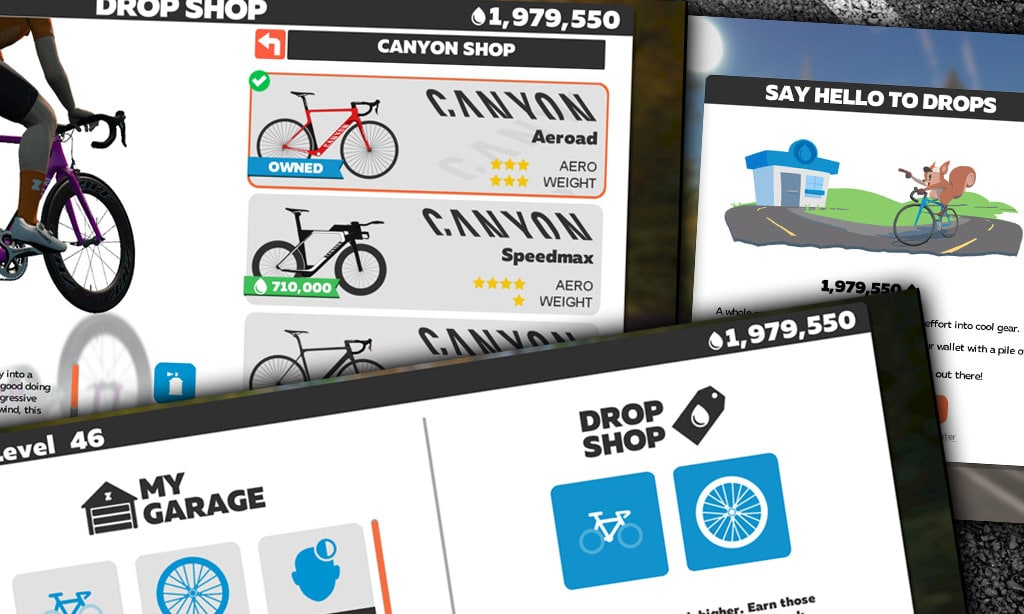 Equip Your Virtual Self at Zwift's New Drop Shop