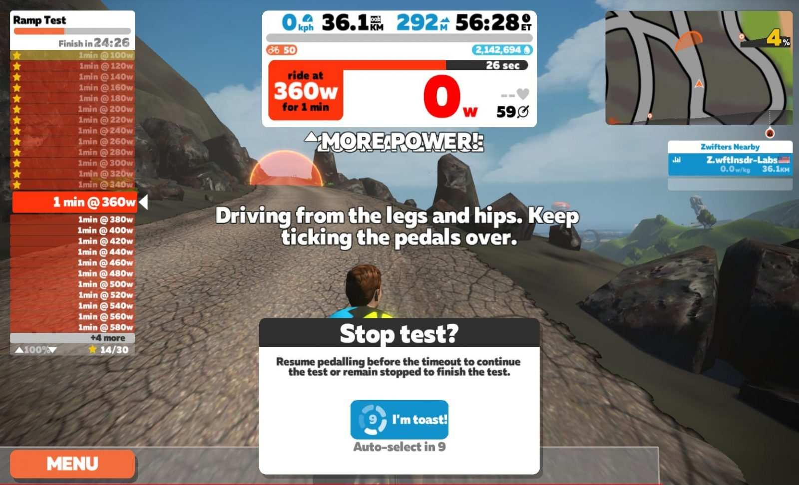 Determine Your FTP with Zwift's New Ramp Test | Zwift Insider