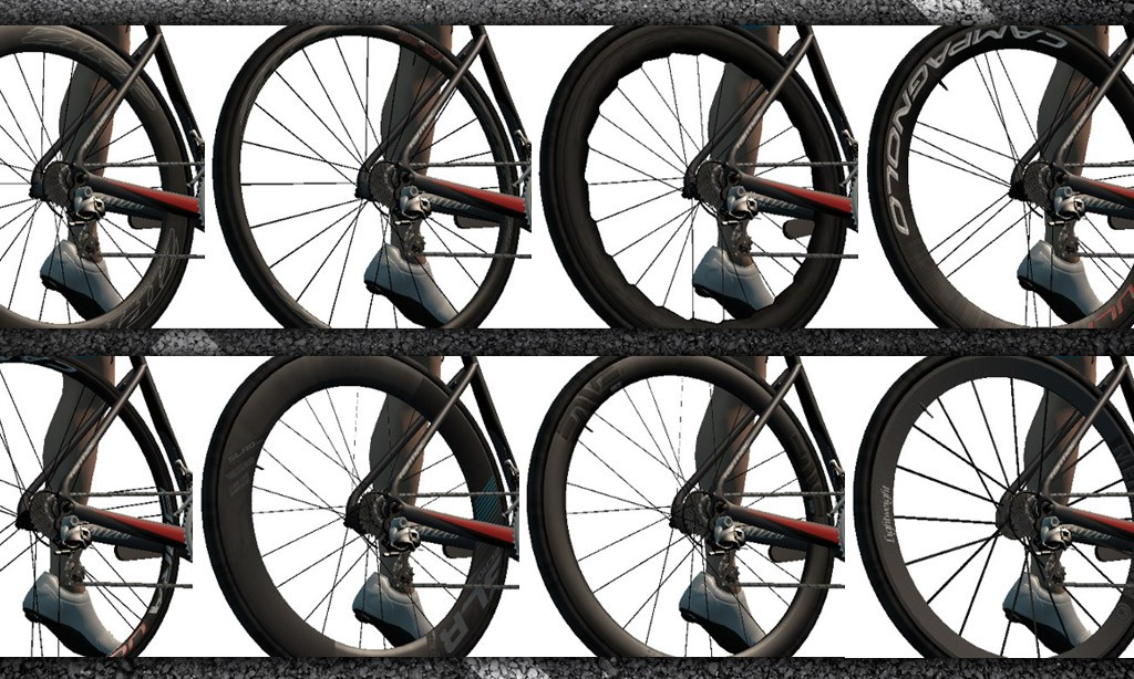 A Complete List of Zwift Wheelsets