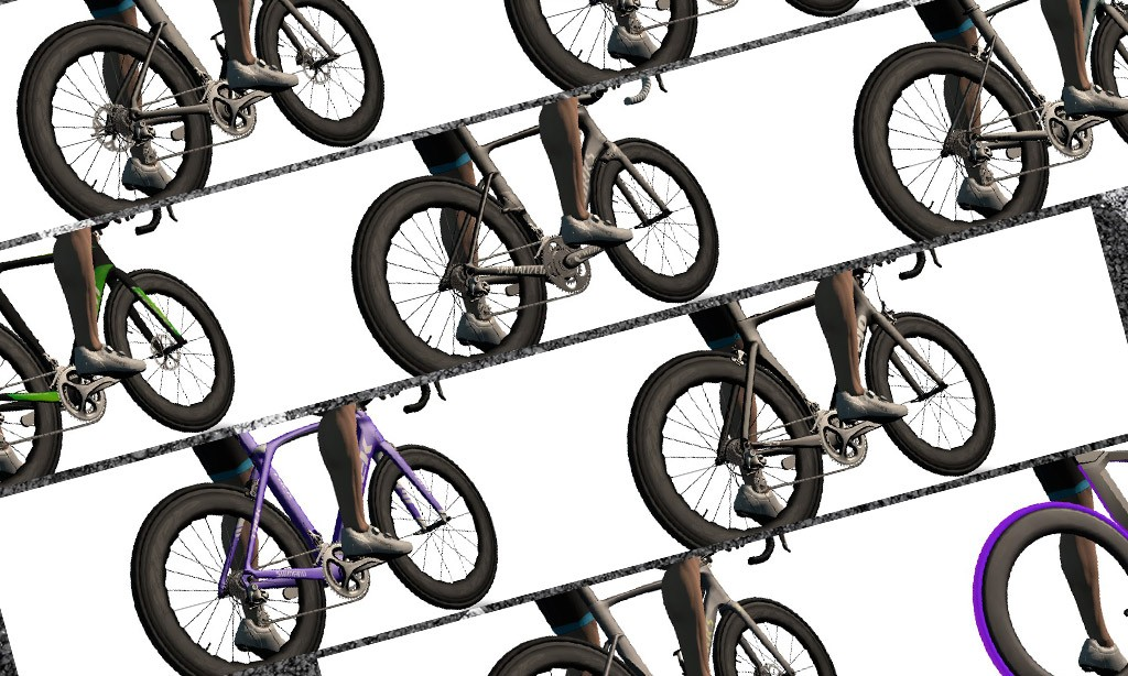Speed Tests: Zwift's 9 Fastest* Bike Frames