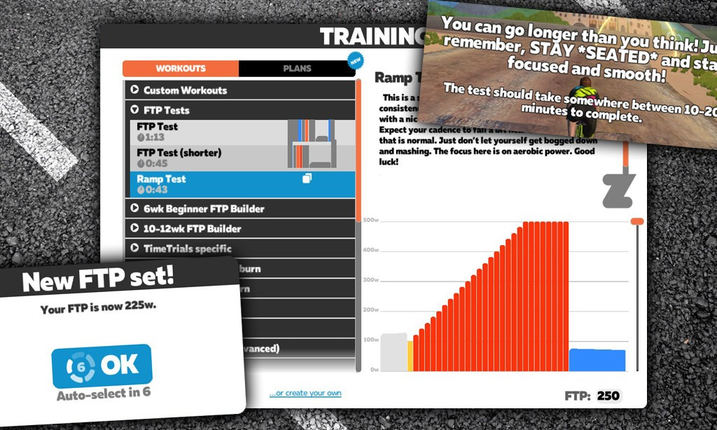 Determine Your FTP with Zwift's New Ramp Test
