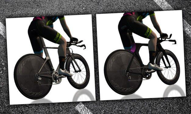Speed Tests: Zwift's 2 Fastest* TT Bike Frames for Climbing