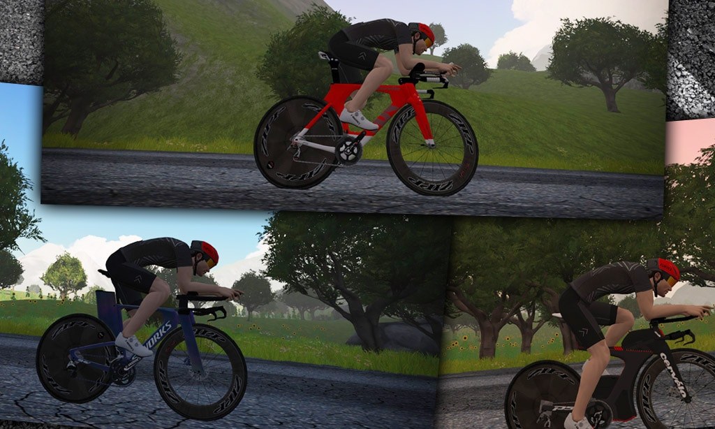 Speed Tests: Zwift's Fastest TT Bike Frames