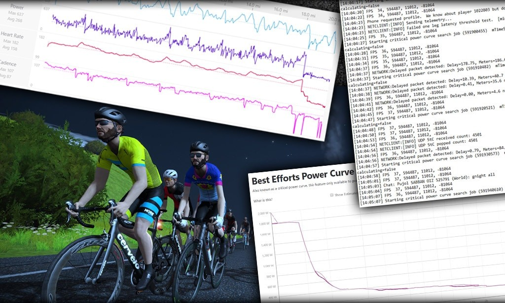 ZADA Returns as Zwift Accuracy and Data Analysis